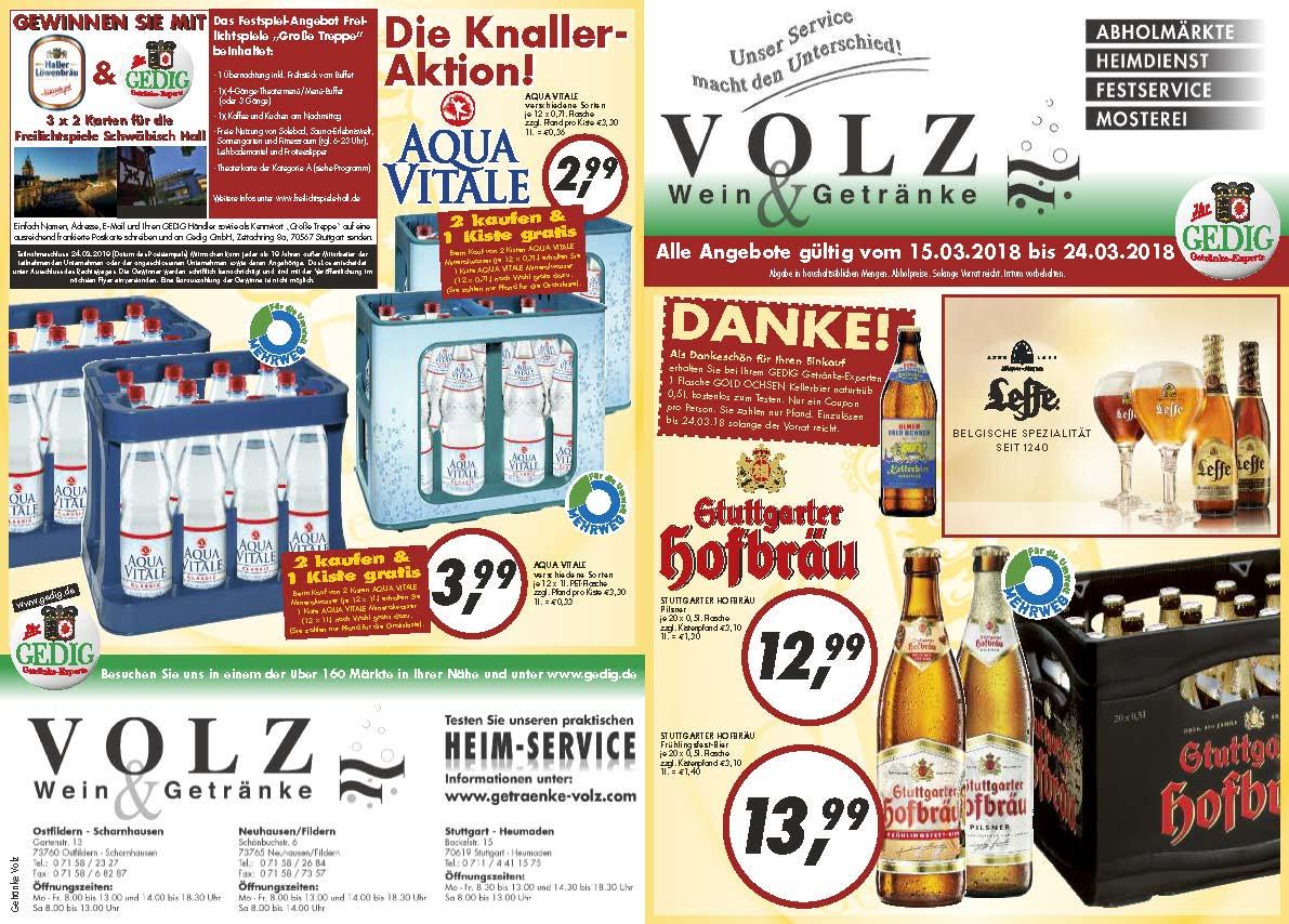 Charmant Getränke Volz Fotos - Die Designideen für Badezimmer ...