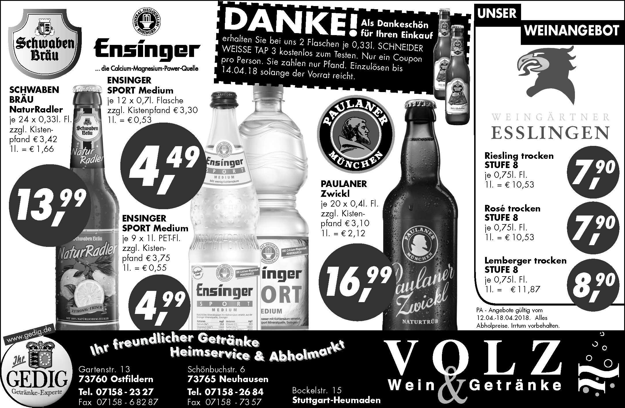 Getränke Volz