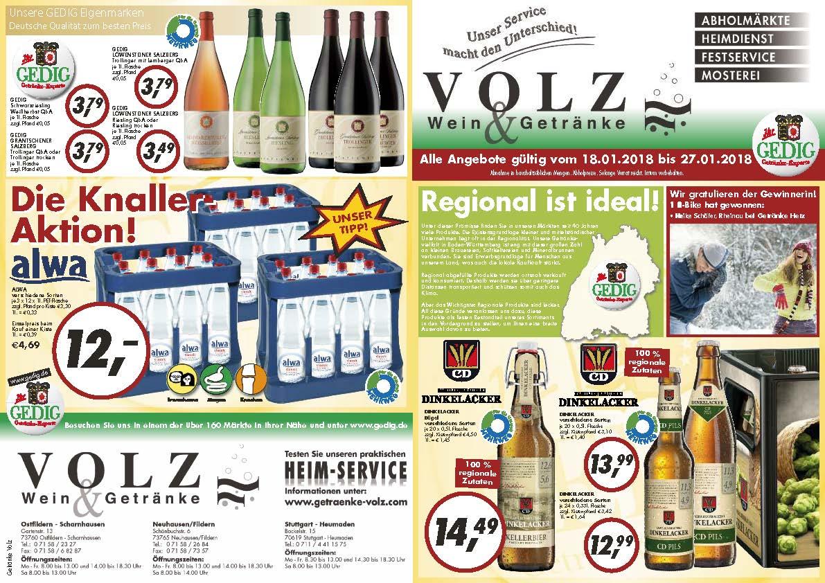 Beste Getränke Volz Zeitgenössisch - Das Beste Architekturbild ...